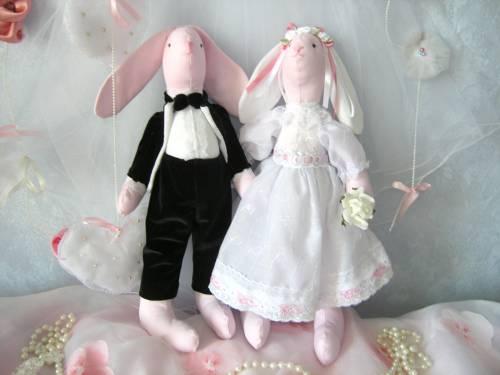Свадебные зайчики своими руками сшить 74