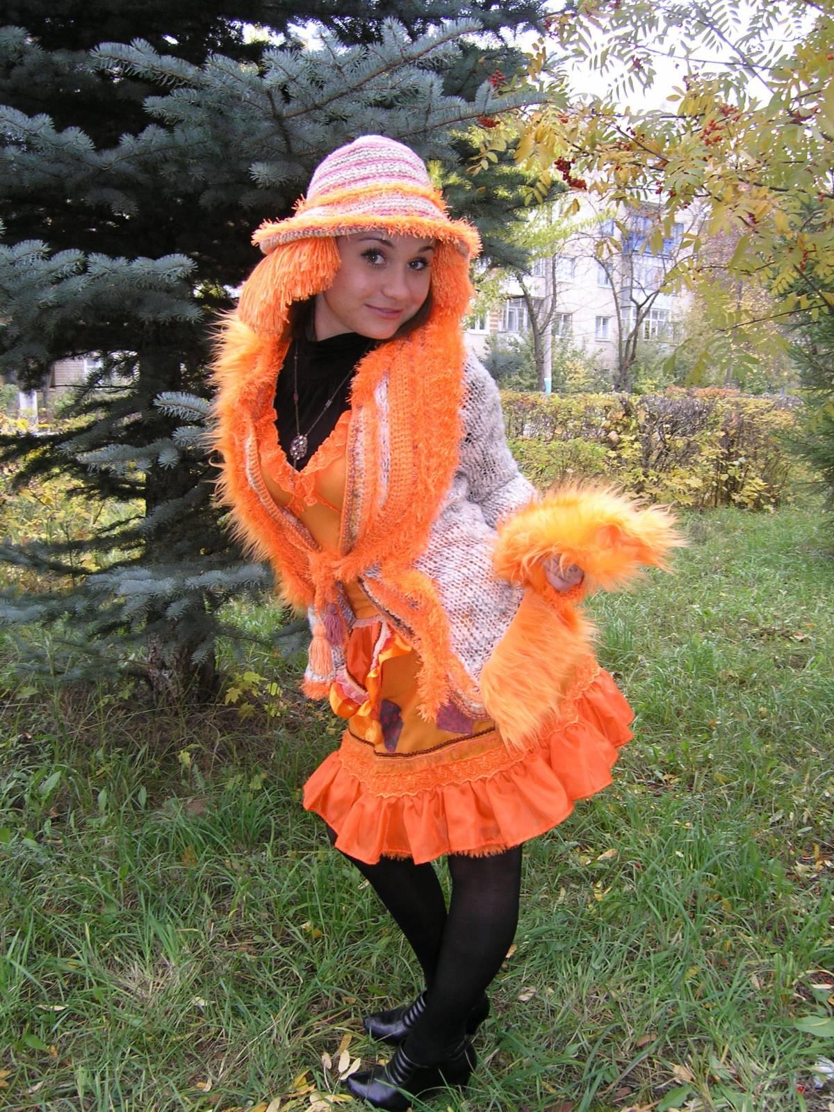 Костюм лисы алисы для ребенка своими руками