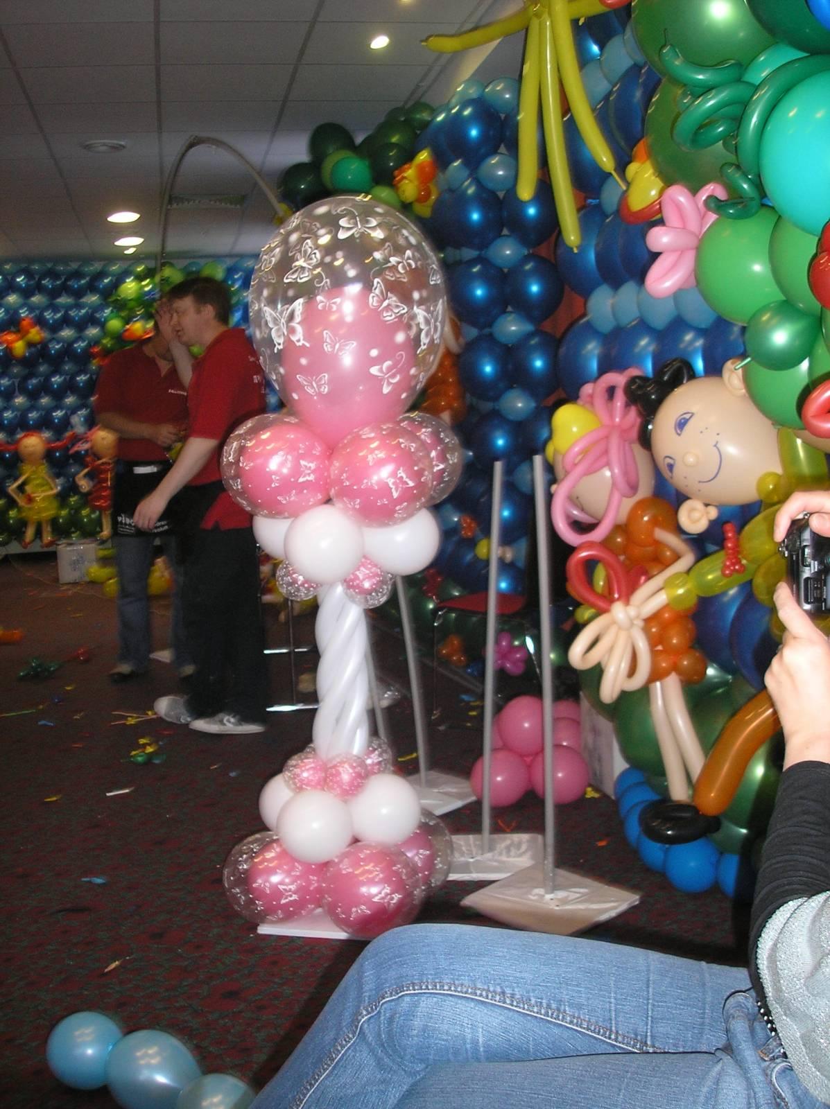 Фонтан из шаров своими руками пошаговая инструкция фото